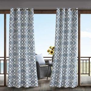 🆕️ Madison Park Daven Fretwork 3M window curtains